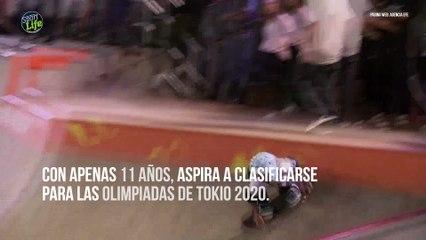 La skater Sky Brown podría ir a unos Juegos Olímpicos con tan solo 11 años
