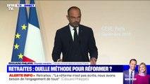 """Édouard Philippe: """"Certains régimes n'ont plus assez d'actifs pour honorer le montant des pensions"""""""