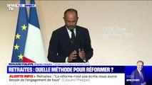 """Édouard Philippe: """"Le système actuel des retraites est objectivement injuste"""""""
