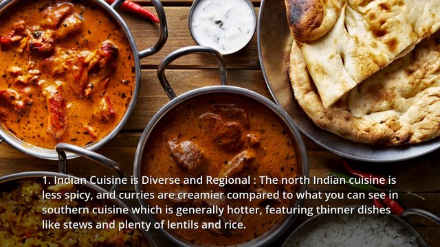 Interesting Facts about Indian Food every spice lover should know