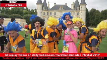 Replay Marathon du Médoc 2019-Ambiance sur la parcours 4 / runners atmosphere on the way 4