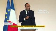 """Réforme des retraites : """"Depuis quelques années, l'idée de travailler plus longtemps n'est plus taboue"""", a déclaré le Premier ministre Edouard Philippe"""
