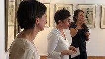 Visite commentée en langue des signes d'une exposition