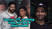 'Section 375' screening | Vicky Kaushal, Ali Fazal and others attend