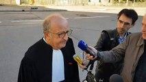 Me Gérard Welzer, l'avocat de la société De Buyer Engines,  sur l'administrateur provisoire à l'Imagerie d'Epinal