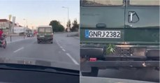 Vídeo da GNR a transportar cannabis gera comentários hilariantes