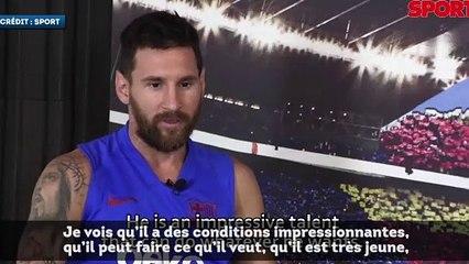 Lionel Messi compte sur Ousmane Dembélé