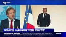 Réforme des retraites: Emmanuel Macron est-il fidèle à ses promesses de campagne?