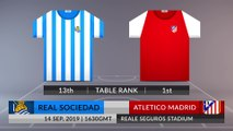 Match Preview: Real Sociedad vs Atletico Madrid on 14/09/2019