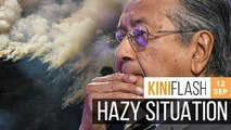 Indonesian minister says haze in M'sia caused by own forest fires, Dr M responds | KiniFlash - 12 Sep