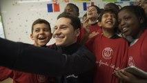La minute Club : Abdou Diallo et Julian Draxler à l'Ecole Rouge et Bleue