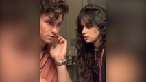 Camila Cabello and Shawn Mendes share sloppy smooch in bizarre video