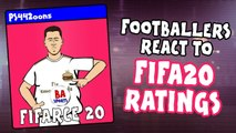 LOLs | Harry Kane, Virgil van Dijk and Neymar react to their FIFA 20 ratings