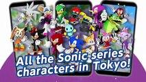 Présentation de Sonic aux Jeux Olympiques sur iOS