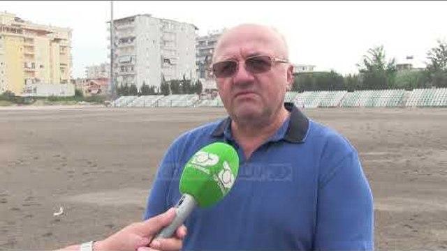 """Fieri me stadium të ri/ FSHF do të restaurojë edhe impiantin """"Loni Papuciu"""" - Top Channel"""