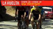 Nouvelle échappée / New breakaway - Étape 18 / Stage 18   La Vuelta 19