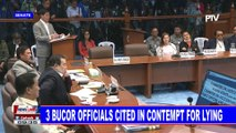 NEWS: 3 BuCor officials cited in contempt for lying