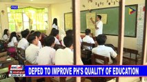 DepEd to improve PH's quality of education