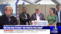 """Procès de Jean-Luc Mélenchon: """"Que Monsieur Mélenchon respecte au moins ma liberté"""" demande Éric Dupont-Moretti"""