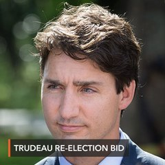 Justin Trudeau opens bruising Canada election campaign