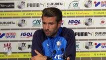 Conférence de presse d'avant Match, Luka Elsner ( Amiens SC - O.Lyonnais )