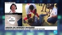 Bousculade dans le stade où la dépouille de Robert Mugabe est exposée