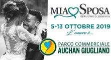 """""""Mia Sposa"""", la fiera del wedding dal 5 al 13 ottobre al parco Auchan di Giugliano (12.09.19)"""