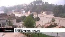 افزایش سطح هشدارها در اسپانیا در پی تداوم بارش بارانهای سیلآسا