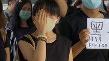 معترضان هنگ کنگی خواستار ممنوعیت دسترسی پلیس به پروندههای پزشکی شدند