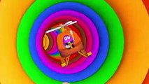 Learn Colors Magic 3D Indoor Playground Tunnel Color Names for Kids Children