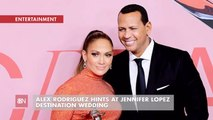 A Hint As To Where ARod And JLo Will Get Married