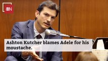 How Ashton Kutcher Ended Up With His New Look