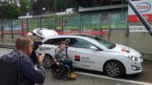 Marieke Vervoort réalise son dernier souhait sur le circuit de Zolder