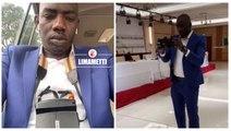Parlement de la CEDEAO : Niang Kharagn fait déjà le buzz dans un costume bleu