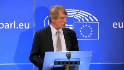 'You can't have a Brexit agreement without a backstop,' says European Parliament President David Sassoli