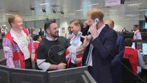 Prince Harry Takes Calls at the Annual BGC Charity Day