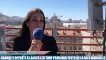 Orange s'apprête à lancer les tout premiers tests de la 5G à Marseille