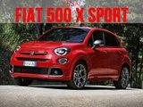 1er essai Fiat 500 X Sport 2019