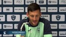Avant HAC - Paris FC, interview de Mathieu Gorgelin