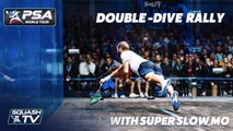 Ridiculous Double-Dive Rally... with Super Slow Motion!