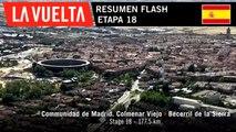 Resumen Flash - Etapa 18 | La Vuelta 19