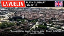 Flash Summary - Stage 18 | La Vuelta 19