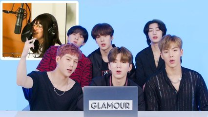 Monsta X Watches Fan Covers on YouTube - Part 2