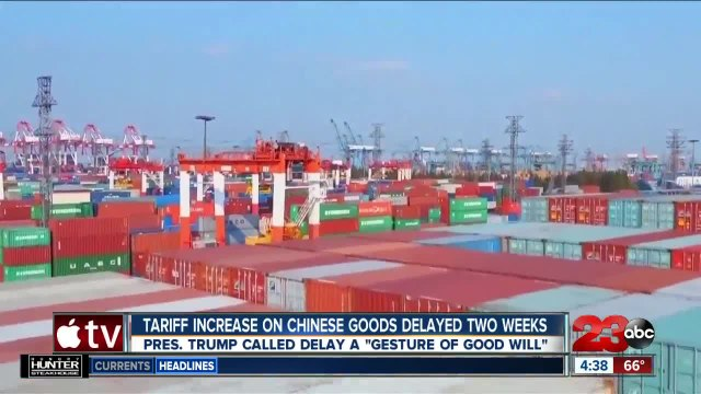 Ag Report: Chinese tariffs delayed, push for USMCA passage