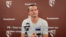 Bordeaux - Metz, la conférence d'avant-match