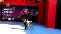 Dayane Diaz y Jefferson Valencia, Pareja Cabaret, XIV Festival Mundial de Salsa Cali 2019