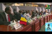 RTB/Concertation des Ministres des affaires étrangères du G5 Sahel pour le sommet sur le terrorisme de la CEDEAO à Ouagadougou