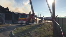 Incendie cancale