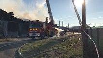 Cancale. Un incendie ravage l'entrepôt d'un chantier naval
