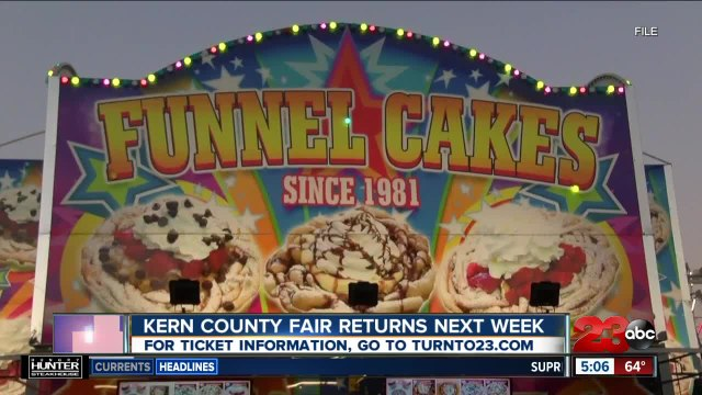 Kern County Fair returns next week